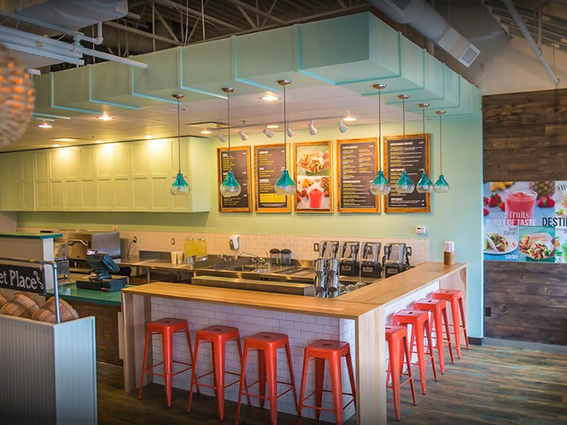 Tropical Smoothie Cafe-6 Michigan locations